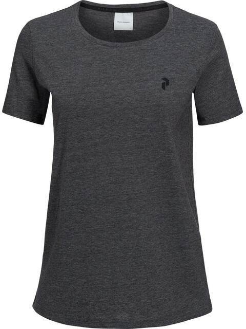 Peak Performance W's Track Tee Dark Grey Melange